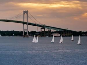 Newport-Bridge-and-Harbor